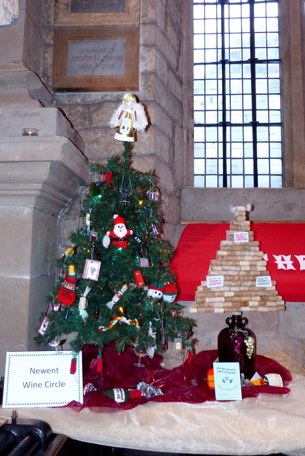 gallery christmas tree festival 2015 st mary u0027s church newent
