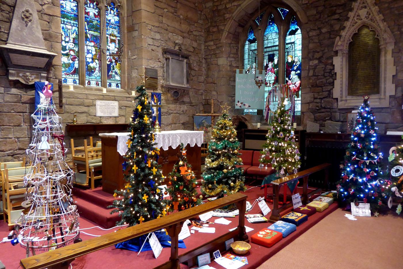 Christmas Tree Festival 2017 013 | St Mary's Church Newent